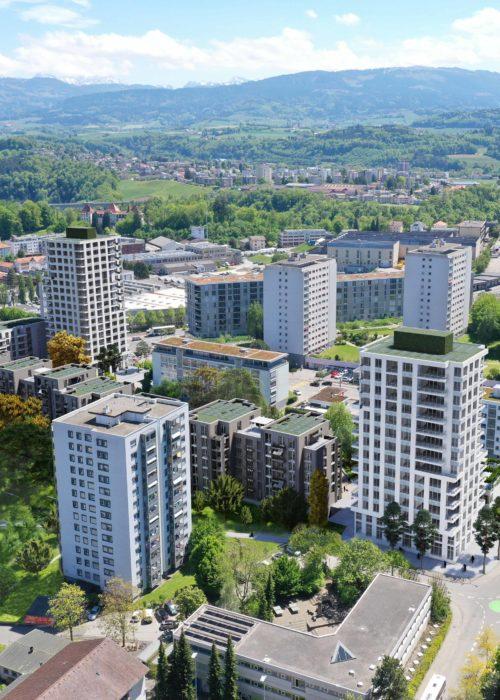 Wohnüberbauung Friglane Fribourg