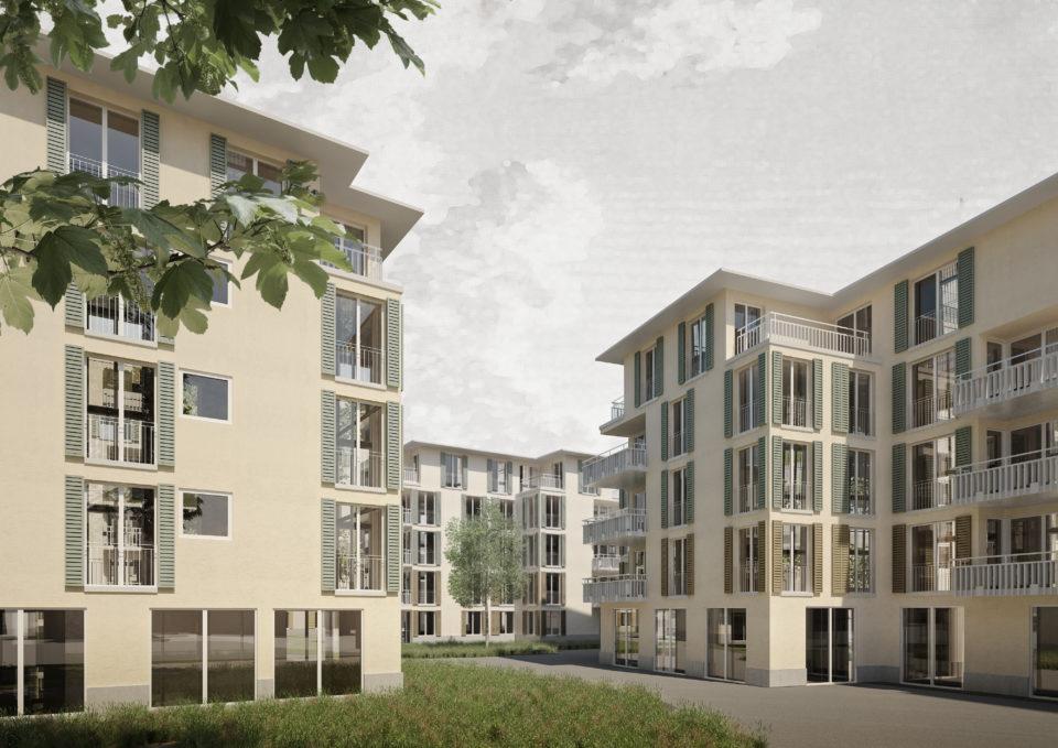 mazzapokora: Wohnüberbauung Waidmatt